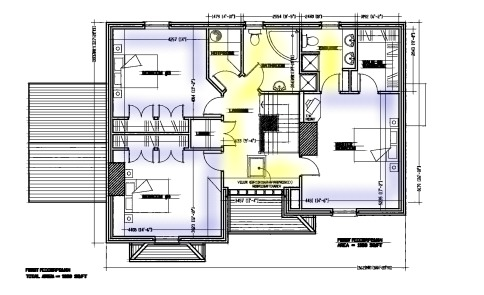 irish house plans for private clients dwelling