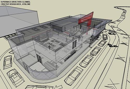 Creative Design Contemporary Cutting Edge Design For Retail Park