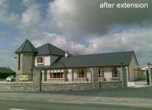 house extension midlands builders working drawings