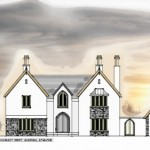 planning submission drawings for dwelling at kilkenny west