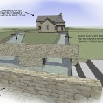 site layout plan to millrace conversion and extension at longford