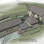 contemporary mill extension and conversion at barry, kenagh
