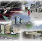 athlone midlands arena development, multifunction with underground parking