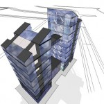 office tower concept to Midlands Gateway development