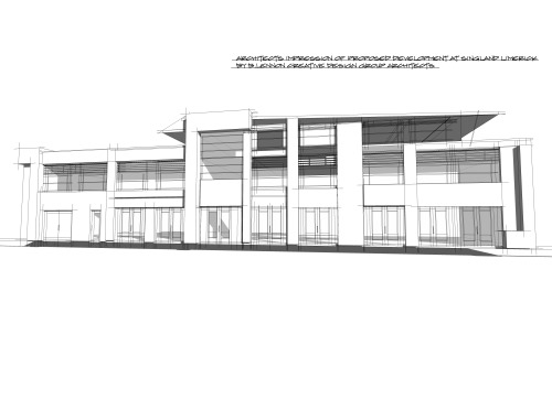 singland-limerick-commercial-development1 singland commercial development limerick architects design