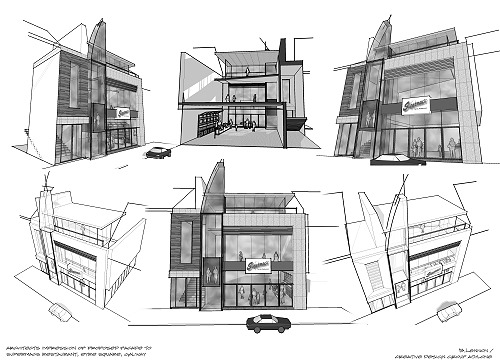 supermacs eyre square galway shadow analysis proposal