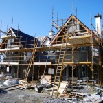 dwelling house under construction at roscommon town