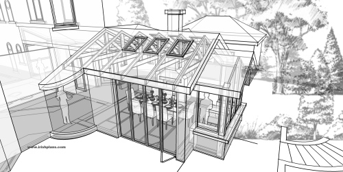 creative design group architects athlone house plans extensions