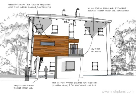 Home Extensions   by creative design group architects athlone    house extension to listed building planning permission required