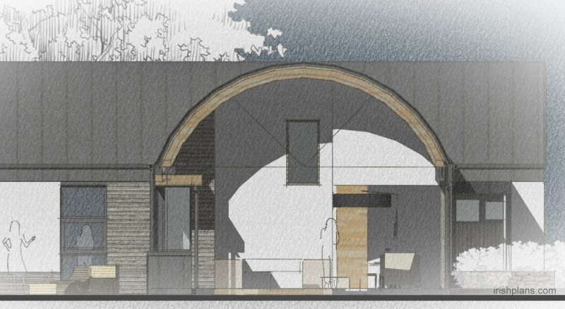 barn-style-dwelling-house-with-barrel-roof-curve-cross-section-timber-gluelam-rafter-detail