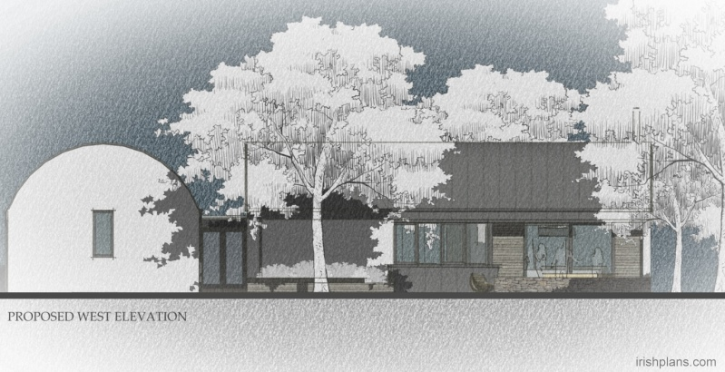 barn-style-dwelling-house-with-barrel-roof-curve-elevation Featured House architects design